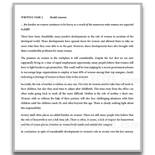 Help in writing essay ielts general training