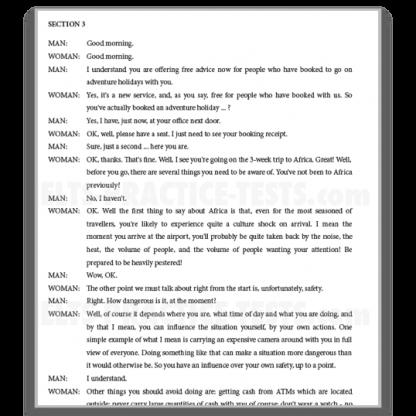 IELTS Listening Practice Transcripts