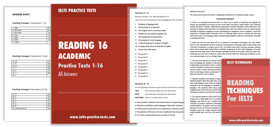 Ielts Academic Reading Test Samples With Answers Pdf