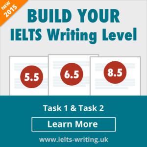 IELTS WRITING UK