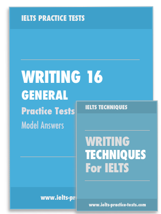 ielts general writing practice test pdf